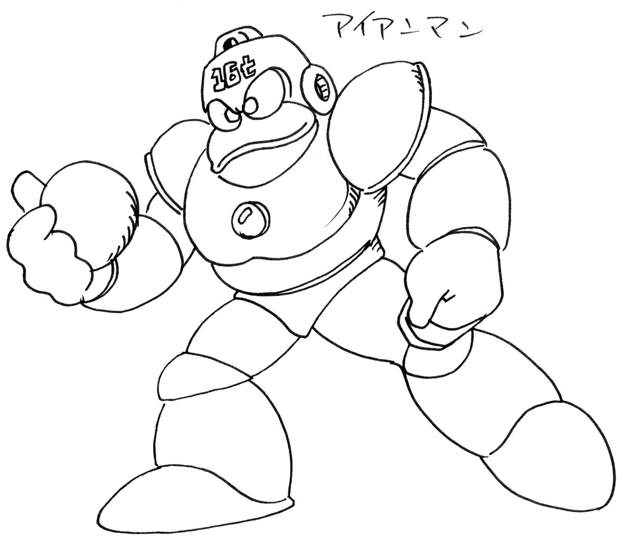 Megaman x coloring pages -  Mega Man 6